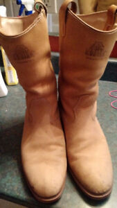 Insulated cowboy boots