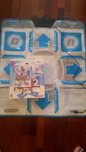 Dance Dance Revolution Hottest Party 2 for Wii with dance mat