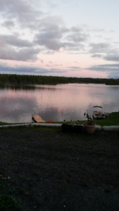Lake Front Cabin, For Sale!
