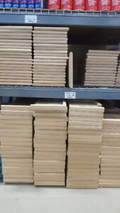STAIR TREADS - SOLID OAK & MAPLE STARTING @ $15, RAILINGS & SPIN