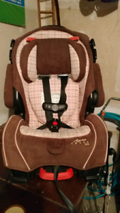 3 in 1 alpha omega car seat brown and pink plad