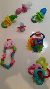 Teethers and fresh food mesh eaters - only $8