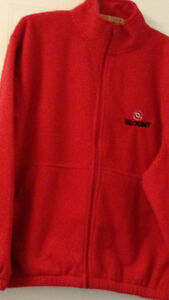 RED POLAR FLEECE JACKET AND RED VEST