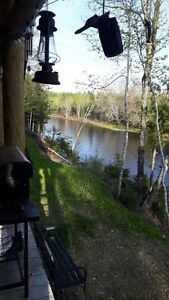 Riverfront Cottage in Dungarvon N.B. $200/night. $350/weekend.