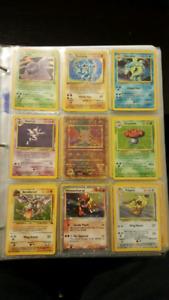 Vintage Pokemon Collection -- $125