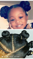 African Corn Row and Braiding/Weave
