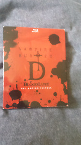 Vampire Hunter D Bloodlust Blu-ray