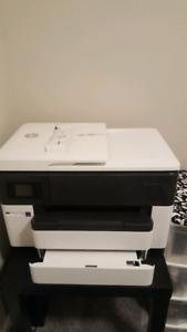 New HP officejet pro 7740 printer