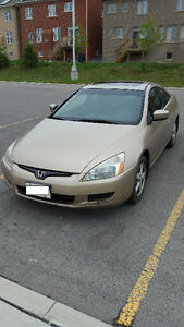 2003 Honda Accord EX with Leather Coupe (2 door)