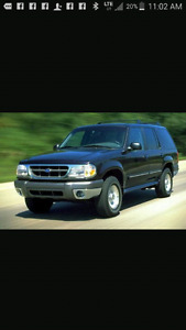 1999 Ford Explorer XLT SUV, Crossover