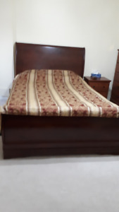 Complete Bedroom Suite - Maple/Brown Color