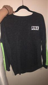 Dark grey crew neck from Pink victoria secret