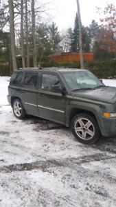 2007 jeep patriot 4x4 limited edition