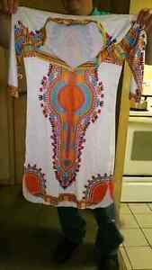 AFRICAN DRESS, BRAND NEW, PLUS SIZE