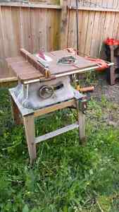 Beaver Power Tools Model 3200 Cast Iron Table Saw Tested & Works