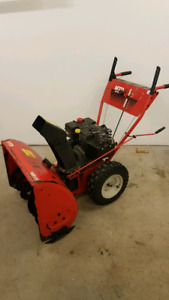 "Mtd 10hp 28"" cut snowblower"