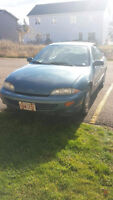 1999 Chevrolet Cavalier Sedan - 128000km - Licensed Inspected -