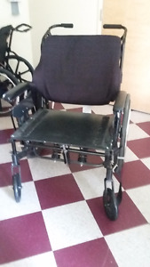 Extra Wide Wheel Chair