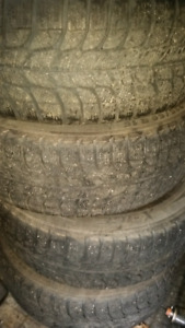 4 winter tires on rims. $300