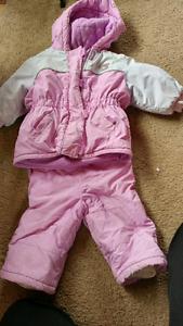 Infant snow suits