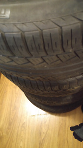 245 45 17. Tires.  All 4.  Evenly worn $125