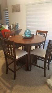 Solid Wood 5 Piece Dining Set $150