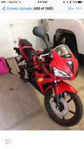 2008 cxr motorcycle