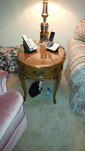French Provincial  Coffee table and End tables