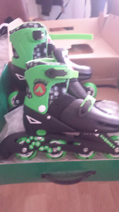 Airwalk 2 in one ice skates / inline skates roller blades