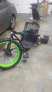 Coleman dt200 motorized drift trike