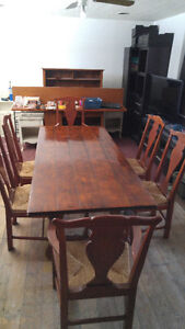 South American Wood Dining Table