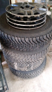 215/70R15 Studded winter tires