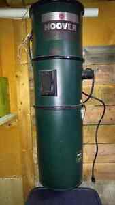 Hoover central vac unit like new