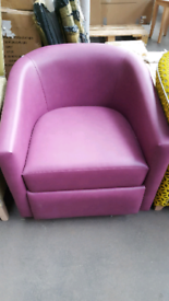 Quality tub chairs in assorted colours £120 each