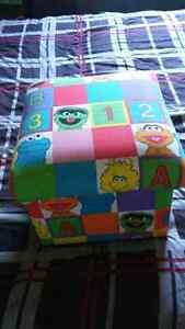 Sesame Street Storage Box Peterborough Peterborough Area image 1