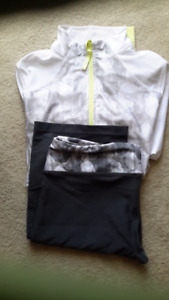 Jacket and pants for leisure