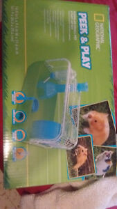 Free hamster and cage to go home