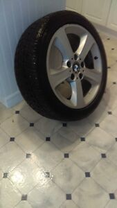 BMW Rims with Winter Tires West Island Greater Montréal image 2