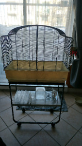 Canto Bird Cage by Ferplast with Metal Stand Included with Cage