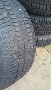 Used winter tires and rims Kitchener / Waterloo Kitchener Area image 3