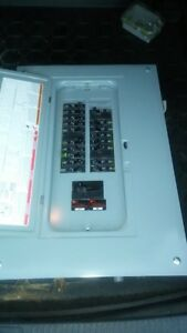 For Sale 100 amp panel box with breakers