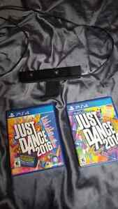 Just dance 2014 and 16 for ps4 and camera