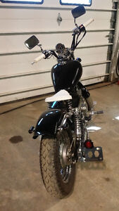 Custom Honda Rebel