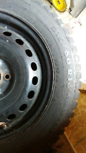 250 60 r16 winter tires and rims for sale