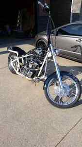 1985 softail fully custom