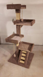 Brand new 5 foot cat tree