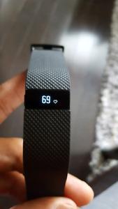 Fitbit HR - Small Black