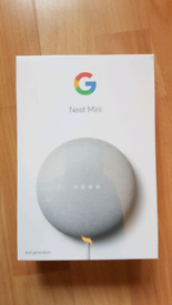 Google Nest mini 2nd generation - brand new and sealed in box