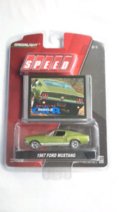 GREENLIGHT 1967 FORD MUSTANG GT AMERICAN MUSCLE CAR DIECAST
