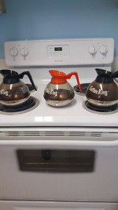 FREE 3 COMMERCIAL COFFEE POTS